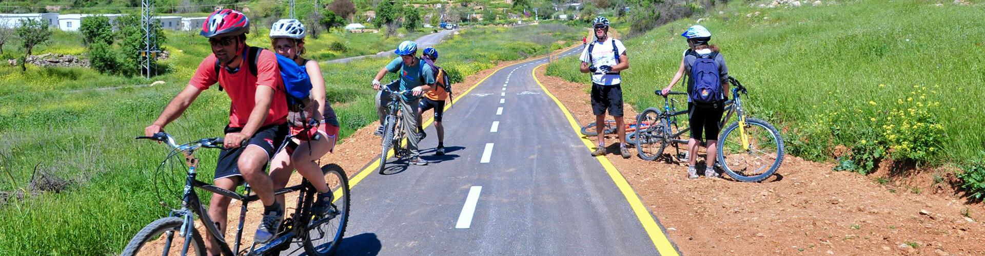 מסלול האופניים בעמק הארזים FULL
