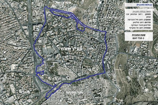 תכנית מתאר מער מזרח-1 בינוני
